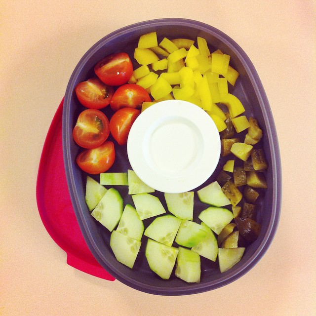 salade in de rosti mepal lunchbox elipse chowie. Black Bedroom Furniture Sets. Home Design Ideas